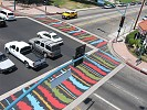 Custom Crosswalks for North Hollywood
